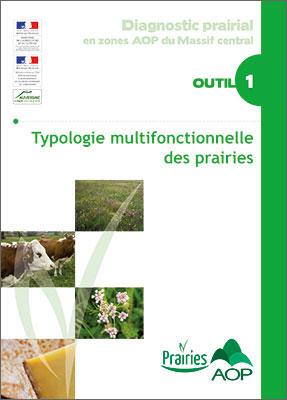 Diagnostic prairial en zones AOP du Massif central